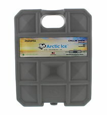 Arctic Ice Chillin Brew Series Reusable Cooler Pack 5 Pound Gray