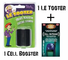 The Original LE TOOTER pooter + 1 CELL BOOSTER FREE