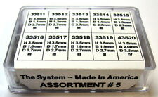 The System Clock Bushing Assortment #5 For Herschede +