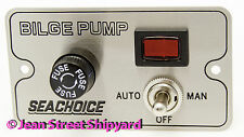 Bilge Pump Control Switch Marine Bilge Electrical Seachoice 19391