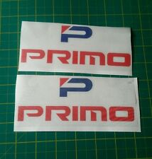 "2x 6"" wide primo bumper wing stickers decals jdm performance honda civic kanjo"