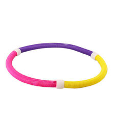 Soft Hula Hoop Spring Hula Hoop Magnetic Slimming Thin Waist Fitness Exercise CA