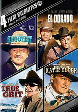 John Wayne: 4 Film Favorites (DVD, 2013, 4-Disc Set)