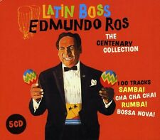 Latin Boss-The Centenary Collection - Edmundo Ros (2010, CD NEU)5 DISC SET