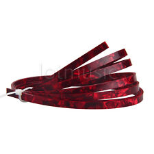 5 Feet Celluloid Acoustic Guitar Binding Purfling Strip 5mm x 1.5mm Red Pearl