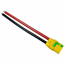 Amass XT90-S Female Connector+Shealth Anti-spark 10awg wire For RC Lipo Battery