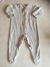 Baby Girls Clothes 3-6 Months - Pretty  Next BabyGrow Sleepsuit
