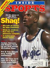 Shaquille O'Neal--1993 Inside Sports--Orlando Magic