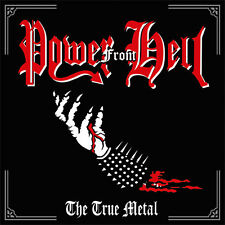 POWER FROM HELL The True Metal LP brazil black metal negative existence