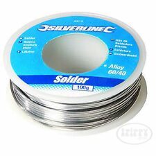 Solder Wire Tin 60pc Lead 40pc Lead 100g 1mm Flux Cored