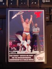 2013 Topps Best of WWE #7 Cody Rhodes Defeats Big Show RED Mint