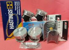 YCP P29 Teflon Coated Pistons 76mm Oversize HighComp +Rings +Bearings Honda D16
