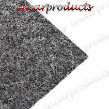 8m x 1.5m Light Grey Acoustic Cloth Carpet for parcel shelf boot van lining