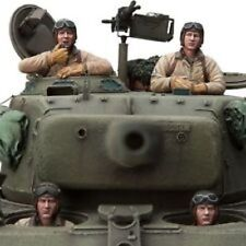 [SOL Model] 1/16 U.S. TANK CREW 4, WW II, Resin Figures Set MM201