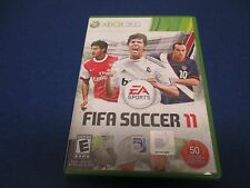XBOX 360, FIFA Soccer 11, EA Sports, Rated E, Real Player Personality,Customize