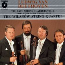 CD BEETHOVEN The Late String Quartets II WILANOW STRING QUARTET