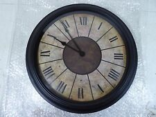 "17 1/2""  WALL MOUNT ROMAN NUMERAL QUARTZ CLOCK LQQK !"