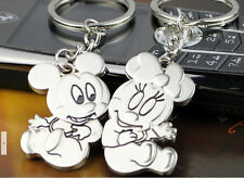 Lovers couples key ring Chain belt lover gifts cartoon mickey & Minnie mouse #2