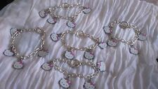 NEW 5 Hello Kitty bracelets/Bulk/beads/jewellery