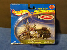 Hot Wheels 1:18 Scale Harley Davidson Heritage Springer Motorcycle - 89064