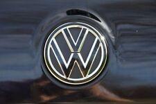 Golf 5 VW Emblem Folie Schwarz Glanz-Matt für Front oder Heck GTI,GTD,R,Tuning