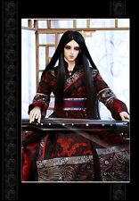 "Brand new 8-9"" 1/3 dollfie BJD SD LUTS Black hair wig 58-1#"