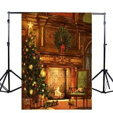 Christmas Xmas Vinyl Photography Backdrop Studio Props Photo Background NEW HQ!