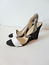 SHOEDAZZLE {Size 5.5} Women's Strappy High Heel Wedge VERY NICE!