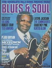 B B King Blues & Soul 1986 Chico Debarge Latoya Jackson Kurtis Blow Peabo Bryson