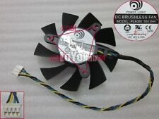 For Power Logic PLA08015S12HH Graphics card Fan DC 12V 0.35A 75x75x15mm 4-Pin