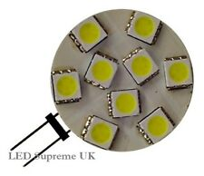 G4 9 SMD LED 12V (10-30VDC) 1.8W 110LM Warm White Bulb (~15W)