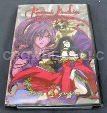Rurouni Kenshin Legend of Kyoto Volume 14 Fire Requiem DVD Episodes #58-62 NEW