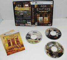 Age of Empires III Gold Edition  PC cd/rom