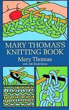 Mary Thomas's Knitting Book Thomas, Mary Paperback