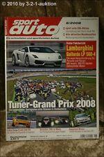 Sport Auto 6/08 Lotus Exige S SL 63 AMG Gallardo LP 560
