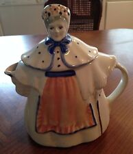 """Granny Anne """"Shawnee Pottery""""  Lady Teapot  Made in the USA"""