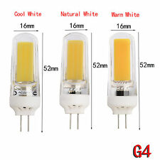 G4 G9 E14 Dimmable LED Corn Bulb Silicone Crystal Light 5730/2835 SMD/COB Lamp