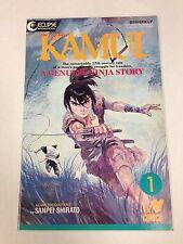 The Legend Of Kamui #1 Sanpei Shirato Viz Comics Genuine Ninja Story