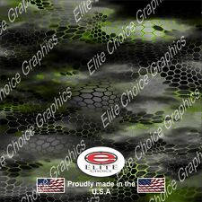 """Hex 2 Green CAMO DECAL 3M WRAP VINYL 52""""x15"""" TRUCK PRINT REAL CAMOUFLAGE"""