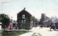 Welford West End Nr Lutterworth old postcard used 1905 Goodfellow