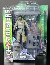 "Ghostbusters Winston Zeddemore 7"" Action Figure Diamond Select"