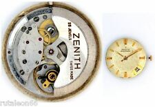 ZENITH 2542PC  original automatic watch movement working (4157)