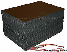 60-SHEETS Car Sound Proofing Deadening Insulation Pads Absorber Acoustic Carpet