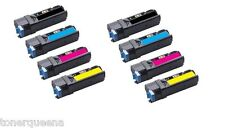 8 x 3K Color Toner for Xerox Phaser 6500 6500n Workcentre 6505 6505n 106R01597