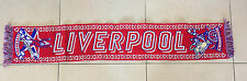 LIVERPOOL SCIARPA CELEBRATIVA CONQUISTA CHAMPIONS LEAGUE 2004-2005  IN JACQUARD