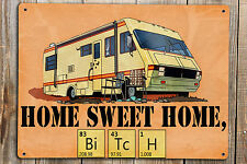 BREAKING BAD METAL SIGN POSTER PRINT HOME SWEET HOME WALTER WHITE A5