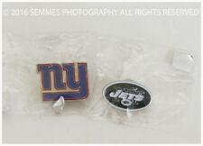 NFL - New York Giants / Jets 2016 Pin Lot (NEW In Packages)