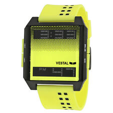 Vestal Digichord Yellow and Black Dial Unisex Digital Watch DIG026