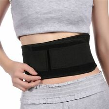 Magnetic Self-Heating Lower Back Lumbar Waist Pad Belt Support Protector WT