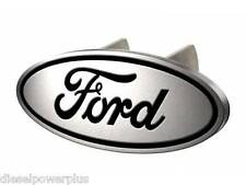 ford motor logo aluminum metal Hitch plug cover hider insert receiver reese